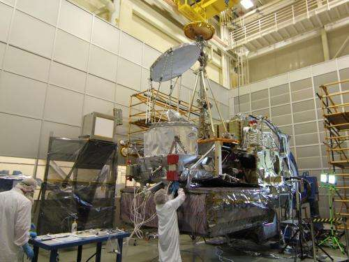 NASA's GPM observatory completes first dry run