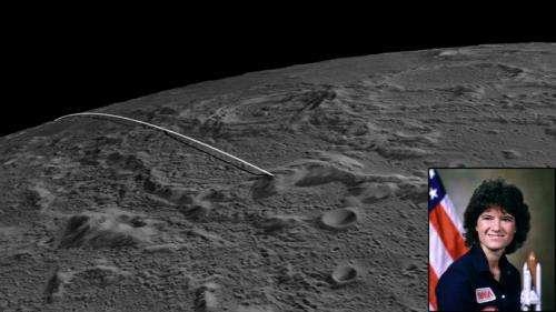 NASA's GRAIL lunar impact site named for astronaut Sally Ride