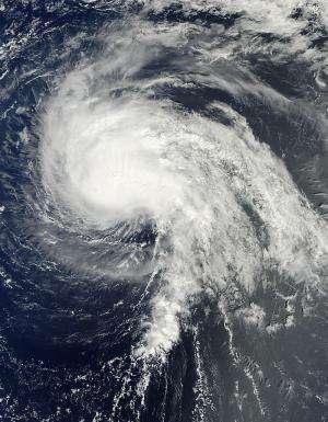 NASA's Hurricane Mission explores Tropical Storm Nadine