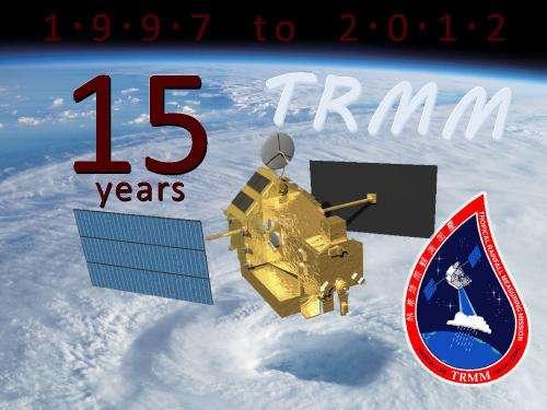 NASA's Tropical Rainfall Measuring Mission turns 15