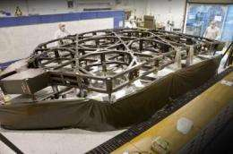 NASA's Webb Telescope flight backplane section completed