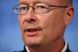 National Security Agency Director Keith Alexander