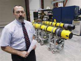 Navy tests ocean drones off US coast