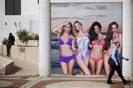 New Israeli law bans underweight models in ads (AP)