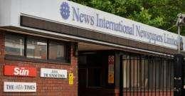 News International's headquarters in east London