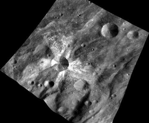 New type of 'space weathering' observed on asteroid Vesta