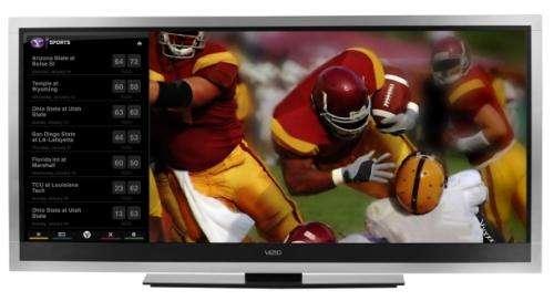 New Vizio HD-TV breaks wide-screen barrier for movies, apps