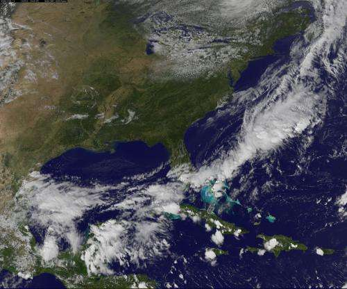 NOAA's GOES-13 weather satellite currently has an acting back-up
