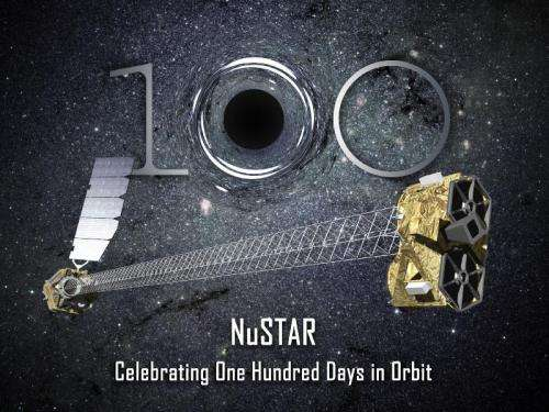 NuSTAR celebrates first 100 days