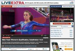 Olympics video reflects Internet's tension with TV