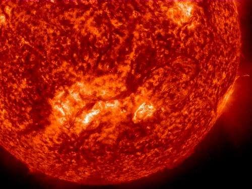 One half million mile solar filament