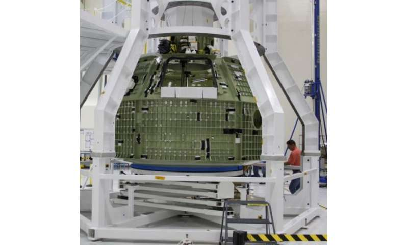 Orion assemblage on track for 2014 launch