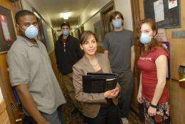 Pairing masks and hand washing could drastically slow spread of pandemic flu
