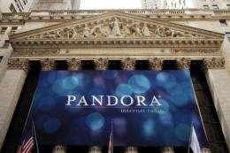 Pandora is the largest Internet radio operator