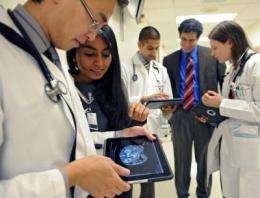 Personal mobile computing increases doctors' efficiency