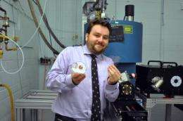 Physicists induce high-temperature superconductivity in semiconductor with Scotch tape