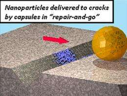 Polymer science team designs new nanotech technique for lower-cost materials repair