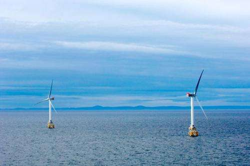Powering the U.S. East Coast with offshore wind energy: A possibility?