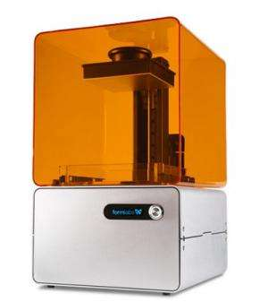 MIT spinoff spiffs up desktop 3-D printing with Form 1