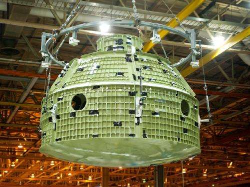 Readying Orion for flight