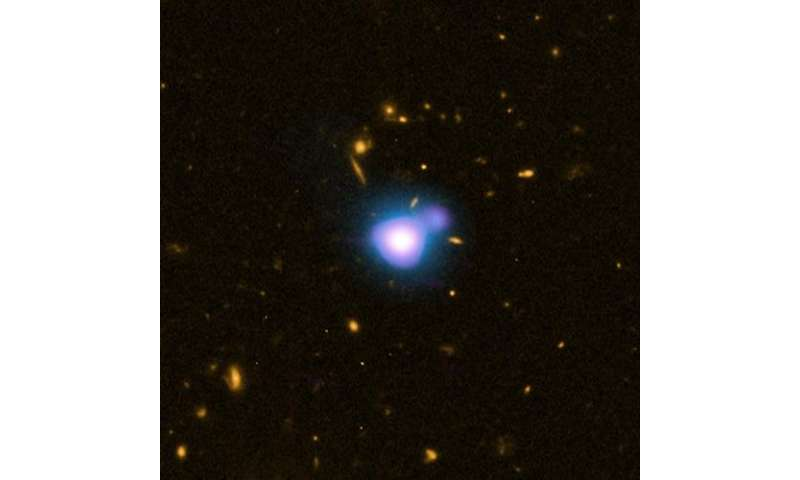 Record-setting X-ray jet discovered