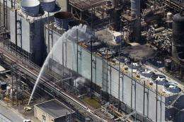 Refinery fire highlights pollution concerns