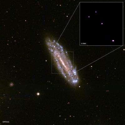 Revealing a mini-supermassive black hole