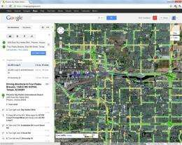 Review: A mapping contender emerges in MapQuest on