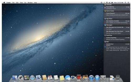 Review: Newest Mountain Lion Apple OS adds nifty features