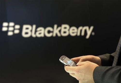RIM to release new BlackBerrys soon after Jan. 30