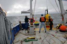 Robot monitors toxic red tides