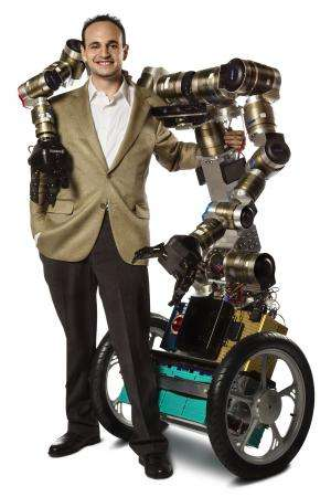 Robots using tools: With new grant, researchers aim to create 'MacGyver' robot