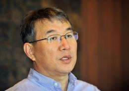 Ro Seog-Ho, pictured, is executive vice president of LG Electronics' TV business