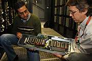 Scientists build GPU cluster for subatomic calculations