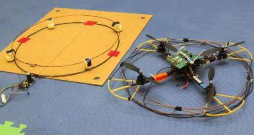 Nimbus Lab sends up quadrotors for wireless charging (w/ Video)