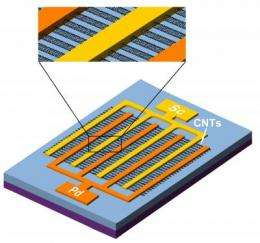Sensing the infrared: Researchers improve infrared detectors using single-walled carbon nanotubes