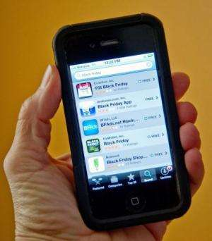 Several smartphone apps available to holiday shoppers