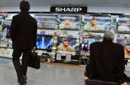 Sharp suffered a bloodletting earlier this month with its shares diving to 40-year lows