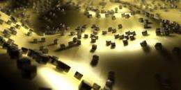 Silver nanocubes make super light absorbers