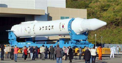 SKorea postpones rocket launch due to gas leak