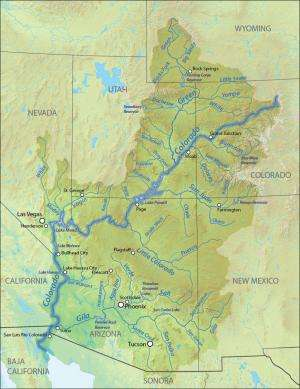 Smaller Colorado River projected for coming decades, study says