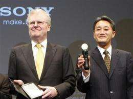 Sony's Hirai to replace Stringer as CEO in April (AP)