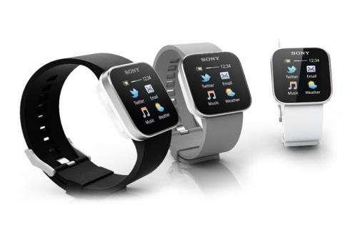 Sony straps on Internet-linked wristwatch