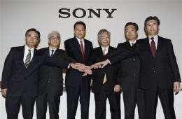 Sony to cut 10,000 jobs, turn around TV business (AP)