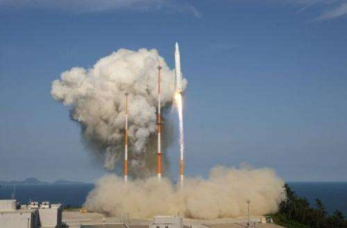 South Korea has postponed its third bid to put a satellite in orbit until next year, an official said Monday