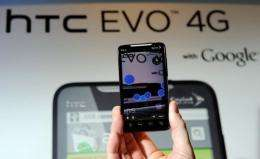 "Sprint said in a statement that the phone, known as the HTC EVO 4G LTE ""has been delayed"""