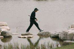 State media says there are at least 75 golf courses in Beijing which are a huge drain on water resources