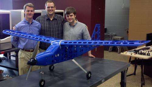 Student Engineers Design, Build, Fly 'Printed' Airplane