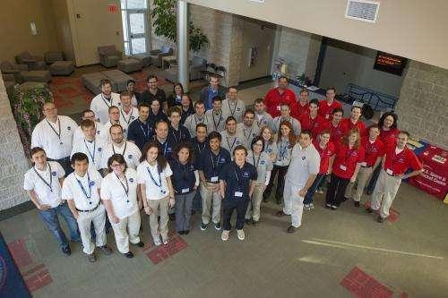 Students get rover-building experience at NASA Marshall