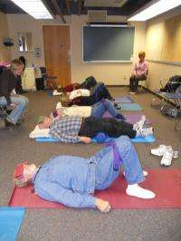 Study: Group yoga improves motor function and balance long after stroke